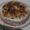 Meyveli Yılbaşı Pastası