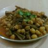 Patlıcanlı Nohut Yemeği