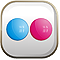 flickr web 2.0 logo
