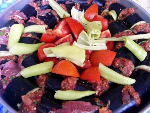 patlıcan kebabı1 Patlıcan Kebabı